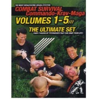 Combat Survival Commando Krav Maga-Moni Aizik