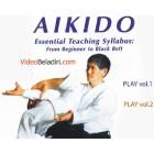 Aikido Essential Teaching Syllabus from Beginner to Blackbelt-Minoru Kanetsuka