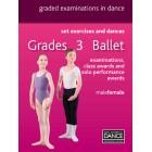Royal Academy of Dance-RAD Grades 3 Ballet-DVD Panduan Belajar Balet