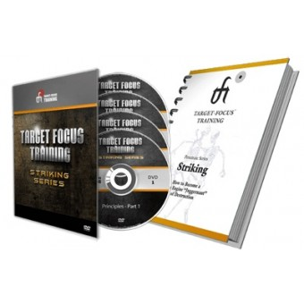 Target Focus Training TFT Striking Series 4 DVD set