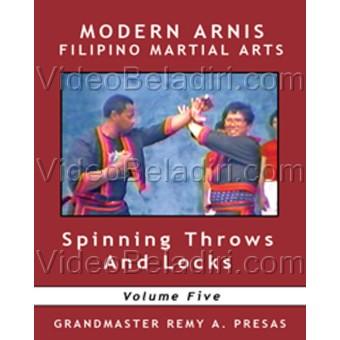 Modern Arnis Filipino Martial Arts-Spinning Throw and Locks-Remy Presas