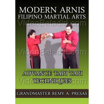 Modern Arnis Filipino Martial Arts-Advance Tapi Tapi Techniques-Remy Presas