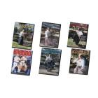 Ancient Japanese Kobudo Weapons Bo Jo Yari Kama Sai Tanbo Naginata by Brian Ricci and Frank Gaviola 6 DVD Set