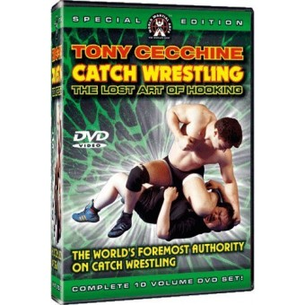 Catch Wrestling The Lost Art of Hooking 10 Volumes by Tony Cecchine