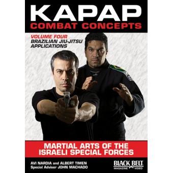 Kapap Combat Concepts DVD 4-Brazilian Jiu-Jitsu Applications-Avi Nardia