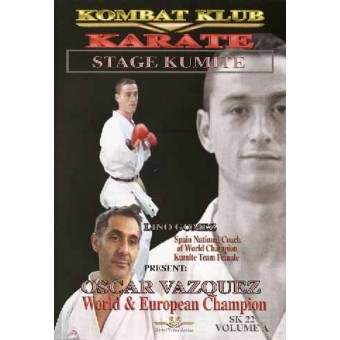 Karate Stage Kumite-Oscar Vazquez