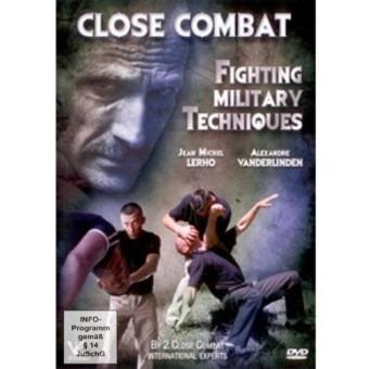 Close Combat Fighting Military Techniques-Jean Michel Lerho and Alexandre Vanderlinden