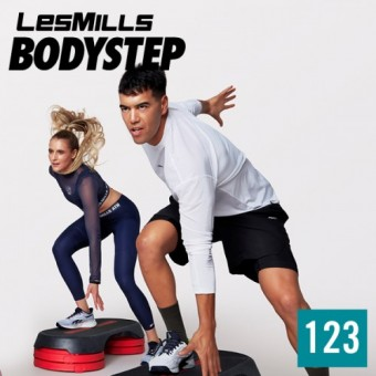 LesMills BODYSTEP 123 M4V+MP3+PDF instant download