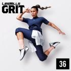 LesMills GRIT 36 M4V+MP3+PDF instant download