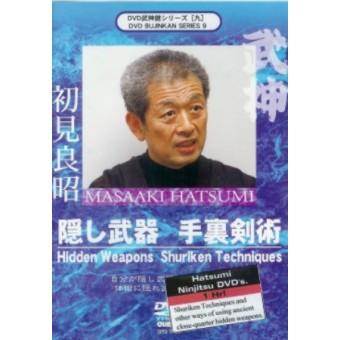 Hidden Weapons and Shuriken Techniques-Masaaki Hatsumi