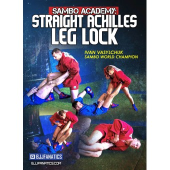 Sambo Academy Straight Achilles Leg Lock by Ivan Vasylchuck
