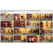 Shaolin Warrior Fighting Punches and Kicks Volume 2 Takedown by Sifu Yan Lei