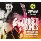 Zumba Target Zones-Tanya Beardsley-3 DVD