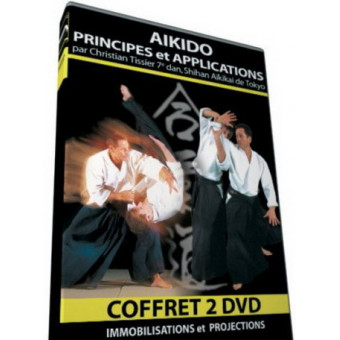 Aikido Principles and Applications 2 DVD Set-Christian Tissier