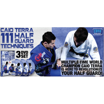 111 Half Guard Techniques-Caio Terra