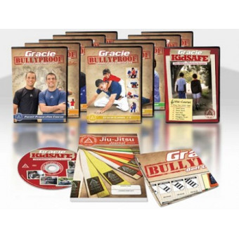 Gracie Bullyproof - Ryron and Rener Gracie 11 DVD Set