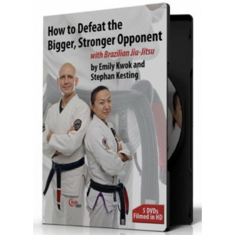 How to Defeat the Bigger, Stronger Opponent 5 DVD-Stephan Kesting-Emily Kwok