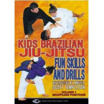 Kids Brazilian Jiu Jitsu Fun Skills and Drills-Scott Templeton