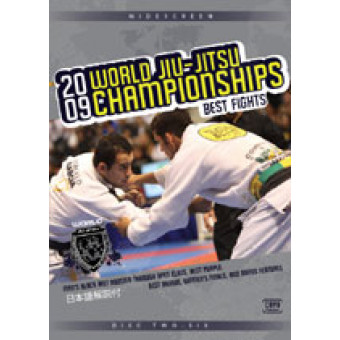 2009 World Jiu-jitsu Championships Best Fights 5 DVD Set