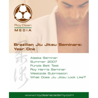 Brazilian Jiu Jitsu Seminars Year One-Roy Dean