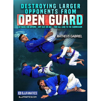 Destroying Larger Opponents From Open Guard by Matheus Gabriel