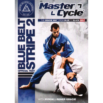 Gracie Master Cycle Blue Belt Stripe 2 Official Test