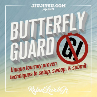 Nogi Butterfly Guard Course by Rafael Lovato Jr.