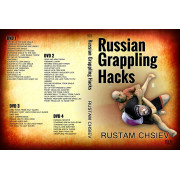 Russian Grappling Hacks 4DVD Set-Rustam Chsiev