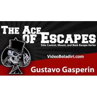 The Ace of Escapes BJJ Online Course-Gustavo Gasperin