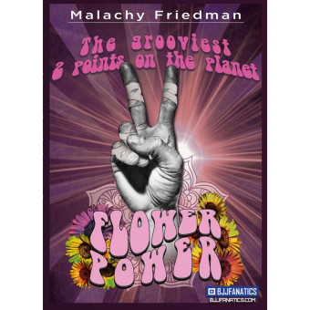The Grooviest 2 Points On The Planet with Flower Power by Malachy Friedman
