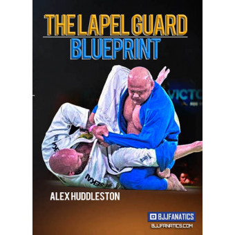 The Lapel Guard Blue Print by Alex Huddleston