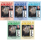 Practical Aikido Real life Street Self Defense 5 Volume Set Robert Koga