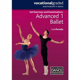 Royal Academy of Dance-RAD Advanced 1 Ballet-DVD Panduan Belajar Balet