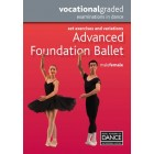 Royal Academy of Dance-RAD Advanced Foundation Ballet-DVD Panduan Belajar Balet