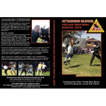 Attacking Blocks for Dog Brothers Martial Arts