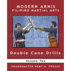 Modern Arnis Filipino Martial Arts-Double Cane Drills-Remy Presas