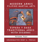 Modern Arnis Filipino Martial Arts-Espada Y Daga Traditional Arnis with Disarms-Remy Presas