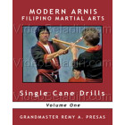 Modern Arnis Filipino Martial Arts-Single Cane Drills-Remy Presas