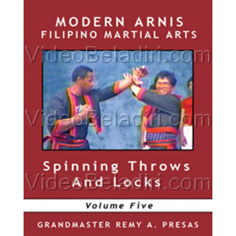 Modern Arnis Filipino Martial Arts-Spinning Throw and Locks-Remy Presas