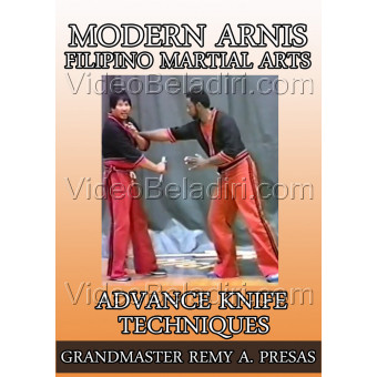 Modern Arnis Filipino Martial Arts-Advance Knife Techniques-Remy Presas