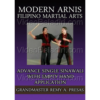 Modern Arnis Filipino Martial Arts-Advance Single Sinawali With Empty Hand Applications-Remy Presas