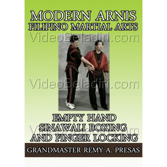 Modern Arnis Filipino Martial Arts-Empty Hand Sinawali Boxing and Finger Locking-Remy Presas