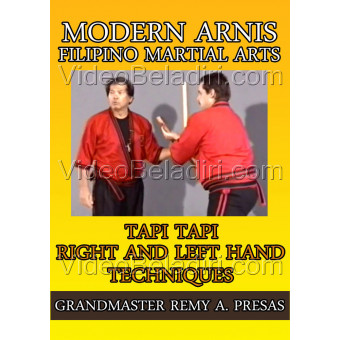 Modern Arnis Filipino Martial Arts-Tapi Tapi Right and Left Hand Techniques-Remy Presas