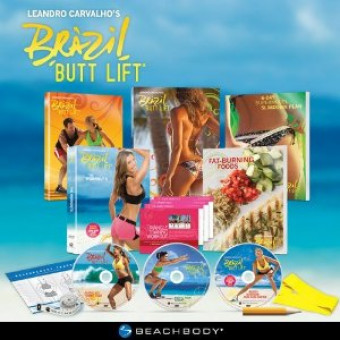 Brazil Butt Lift-Supermodels' Secret to a Perfect Butt Workout System