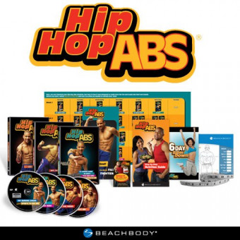 HIP HOP ABS-6 Workouts Set-Shaun T