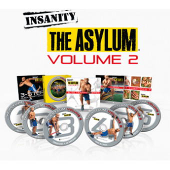 Insanity The Asylum Volume 2-Shaun T