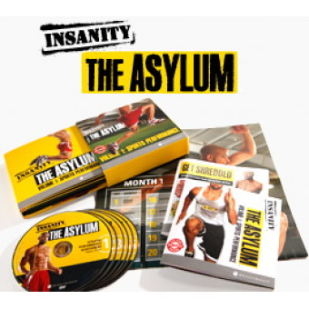 Insanity The Asylum Workout-Shaun T