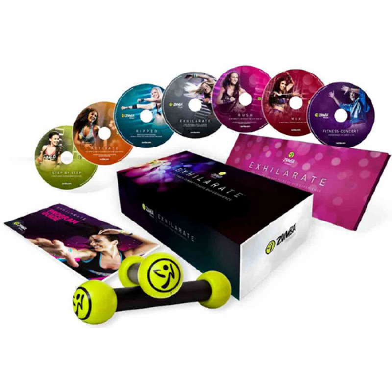Zumba Fitness Exhilarate Dvd Zumba Fitness Exhilarate