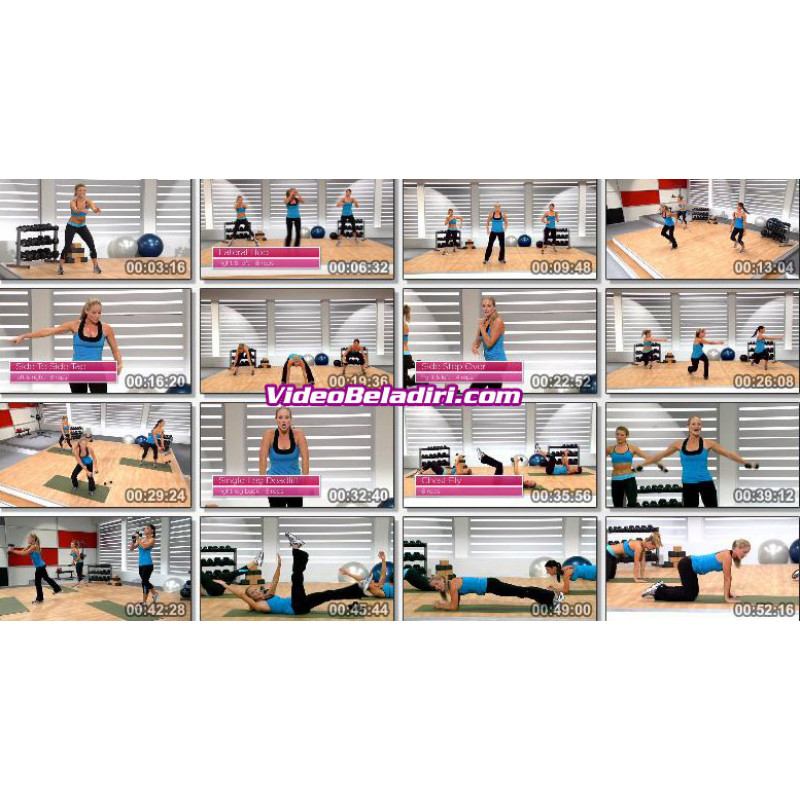 Fitness Dvd For Very Unfit: Look Better Naked DVD Workout-Jessica Smith