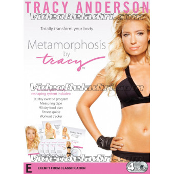 Metamorphosis by Tracy 4 DVD Set-Tracy Anderson